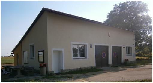 Hasičárna v Moraveči po rekonstrukci